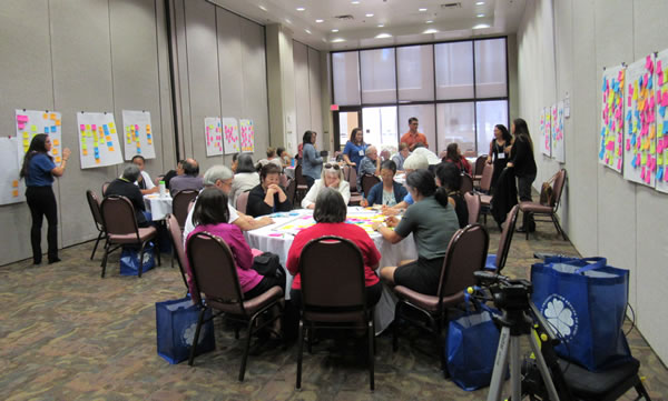 attendees were challenged to tackle key issues affecting the quality of life of older adults and to develop prototypes of their ideas.